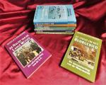 diversen - Bibliotheek van de Tweede Wereldoorlog serie; 4. D-Day 13. Afrika-korps 14. Messerschmitt 109 16. nacht van de lange messen 19.Hitler 21.Duitslands geheime wapens 25.Bommen op Europa