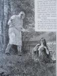 Gebroeders Grimm - Sprookjes en Vertellingen van de Gebroeders Grimm - Met illustratiën van P. Grot Johann