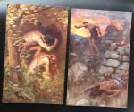 Harold Copping( illustr.) - Ancien Testament en  Nouveau Testament: Matthieu - Marc - Luc - Jean uit de serie: Pictures that Teach
