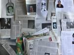 Bouazza, Hafid - Aantal (56) knipsels van en over Hafid Bouzza