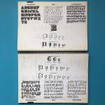 "(Letraset) - Het Letraset ""Graphic Arts"" Systeem."