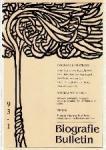 Redactie - Biografie Bulletin 93-1t/m3, 94-1t/m3, 95-1+2, 96-1t/m3, 97-1t/m3,1998-1, 1999-1+3, 2000-1+3, 2004-voorjaar, zomer en najaar