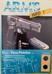 Vervloet, Frans. - Arms Info 1. Vuurwapen Lexicon. 9 mm Parabellum Pistolen.