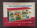 - Complete werktekening voor een modern poppenhuis met volledige beschrijving van huis en meubilair