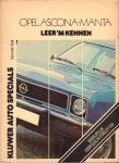Ball, Kenneth - Opel Asona - Manta (Leer 'm Kennen), Begrijpelijk voor elke autobezitter, 122 pag. paperback, goede, gebruikte staat