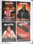 diverse auteurs - Ajax Life Ajaxlife - 27e en 28e jaargang 2019 - 2020  diverse nummers - inclusief TERUG  NAAR WENEN --- Ajax Life: Ajacied ajaxcied van het jaar special --- Special, uitgegeven ter gelegenheid van het 25-jarig bestaan van de supportersvereniging