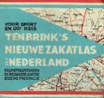 - voor sport en op reis Ten Brink's nieuwe Zak-Atlas van Nederland  Kilometerafstanden en reiswijzer achter iedere provincie