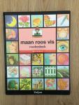 Pelgrom, Els et en Neymans, Annemie (ills.), met stickers getekend door Lieve Baeten - Maan roos vis voorleesboek + stickers