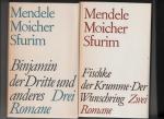 Sfurim, Mendele Moicher - Werke in zwei Bänden.