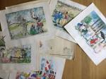 Andersen, H.C. - H.C. Andersen eventyrtegninger - praesenteret af hendes verden