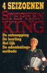 King, Stephen - 4 Seizoenen (cjs) Stephen King (NL-talig) ISBN EERSTE druk 9024515998 met in rode letters Stephen King. gelezen boek, maar prima staat.