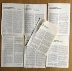 Geraerds, Rob - Aantal (7) knipsels van Rob Geraerds