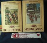 Oldenbourg, Zoé ( Illustraties H. Rotgans) - Het geslacht Linnières [ Trologie !]  Dl I Het Huwelijk en Dl. II Vrouwe Aalais