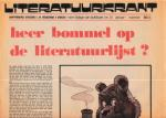 Toonder, Marten / Godtheip, R. - Heer Bommel op de literatuurlijst?