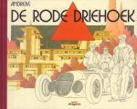 Andreas - De Rode Driehoek, hardcover met linnen rug (gave staat)