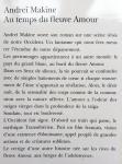 Makine, Andrei - Au temps du fleuve Amour (FRANSTALIG)