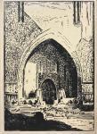 EEDEN, Frederik van & LONDON, J (ontwerp-tekeningen) - Het Godshuis in de Lichtstad